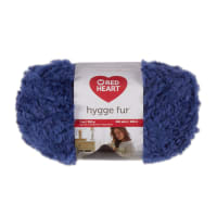 Red Heart Hygge Fur Blue Mist