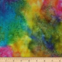 Textile Creations Sunset Key Flannel Tie Dye Multi