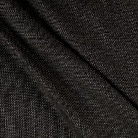 100% Wool Novelty Pique Suiting Silver/Black