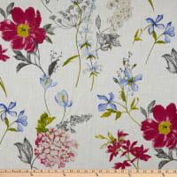 STOF France Crocus 100% Linen Bleu Rose