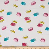 Fabtrends Rayon Soleil Watercolor Macaron Ivory Multi