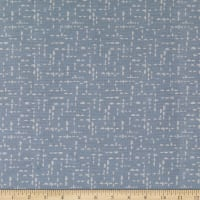 Martha Stewart Perry St Half Moon Batiste Gray