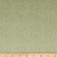 Martha Stewart Perry St Dash Full Plush Light Green