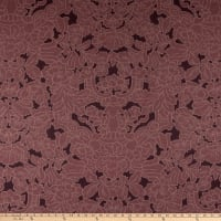 Martha Stewart Skylands Damask Cotton Leenane Plum