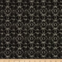 Medallion Lace Black