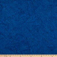 Island Batik French Blue Leaf Vine Engle Blueberry
