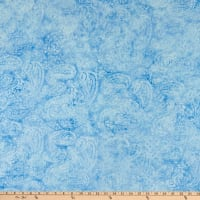 Island Batik French Blue Paisley Outling Engle Sky
