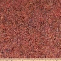 Island Batik Brookview Berry Vine  Engle Dusty Rose