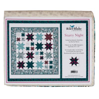 Riley Blake Starry Night Quilt Kit Liberty Fabrics Seasons Greetings