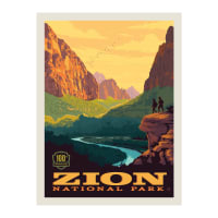 "Riley Blake National Parks 36"" Panel Zion"