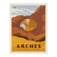 "Riley Blake National Parks 36"" Panel Arches"