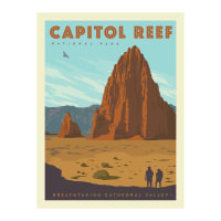"Riley Blake National Parks 36"" Panel Capitol"