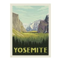 "Riley Blake National Parks 36"" Panel Yosemite"
