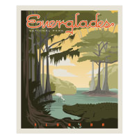 Riley Blake National Parks Everglades Panel