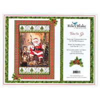 Riley Blake Santa Time To Go Quilt Kit