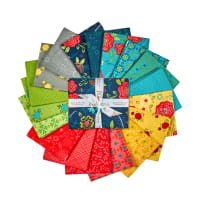 "Riley Blake Wildflower Bouquet 18"" Fat Quarter Bundle 18 pcs"