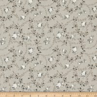 Riley Blake Serenity Rose Bouquet Taupe