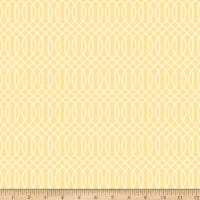 Riley Blake Flower Market Geometric Yellow