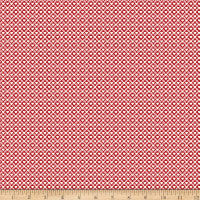 Riley Blake Love Letters Ditsy Red