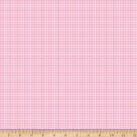 Riley Blake Love Letters Gingham Pink