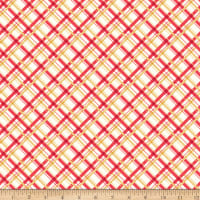 Riley Blake Sugarhouse Park Plaid Red