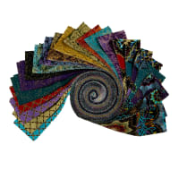 "Windham Grand Illusion 2.5"" Strips  Multi 40pcs"