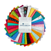 Windham Good Vibes Only Fat Quarters Multi 32 Pcs