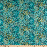 Windham Fabrics Grand Illusion Marble Teal