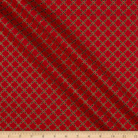 Windham Grand Illusion Lattice Crimson
