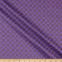 Windham Fabrics Grand Illusion Lattice Lilac