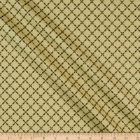 Windham Fabrics Grand Illusion Lattice Tan