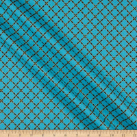 Windham Grand Illusion Lattice Turquoise