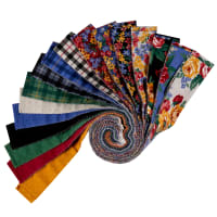 "Windham Pemberley Flannel 2.5"" Strips Multi 40pcs"