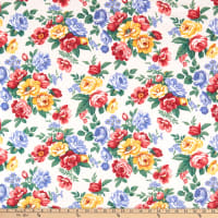 Windham Fabrics Pemberley Flannel Large Floral Cream