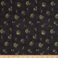 Windham Fabrics Reeds Legacy Floating Floral Charcoal