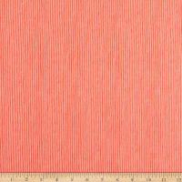 Windham Fabrics Sweet Oak Striped Pear Candy Stripe Coral