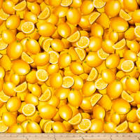 Kanvas Lemon Fresh Fresh Lemons Lemon Yellow