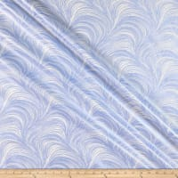 Benartex Pearlescent Wave Texture Light Blue