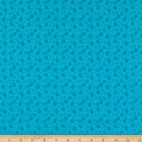 Kanvas Sew Excited, Floral Fun Turquoise