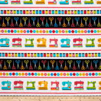 Kanvas Sew Excited, Sew Excited Stripe Multi
