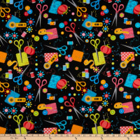 Sew Excited, Sewing Notions Black