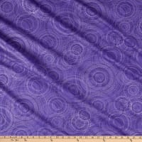 Kanvas Pearl Reflections Beaded Circle Dark Purple