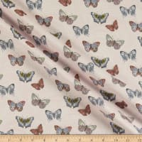 Benartex Totally Tulips Butterfly Wave Light Pink