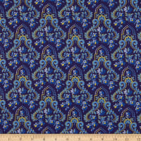Benartex Somerset Baroque Navy