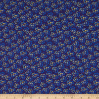 Benartex Somerset Clover Navy