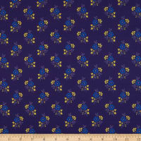 Benartex Somerset Ditsy Navy