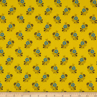 Benartex Somerset Ditsy Yellow