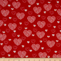 Kanvas Dotty For Scottie Dotty Heart Red