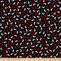 Kanvas Dotty For Scottie Mini Scotties Black