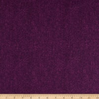 Benartex Winter Wool Wool Tweed Eggplant